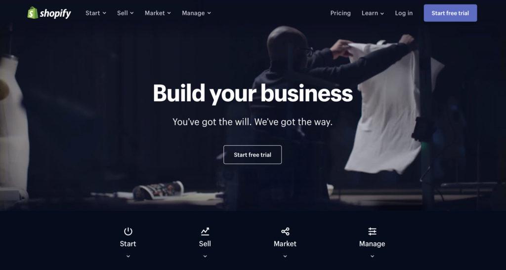Shop builder Shopify.com