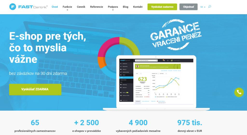 E-shopová platforma FastCentrik.sk