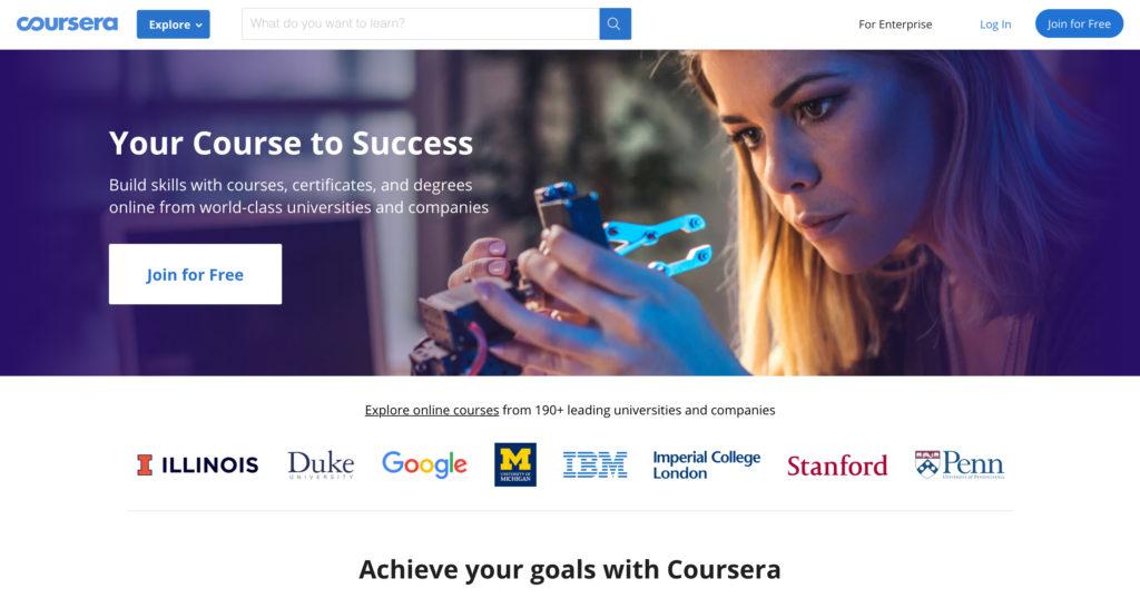 Coursera.org online kurzy