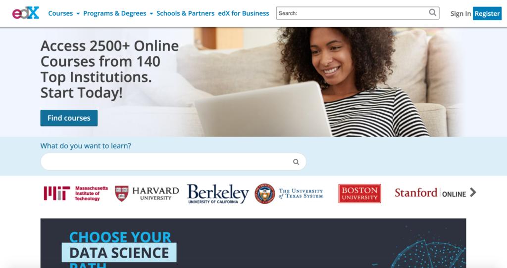 edX.org online kurzy
