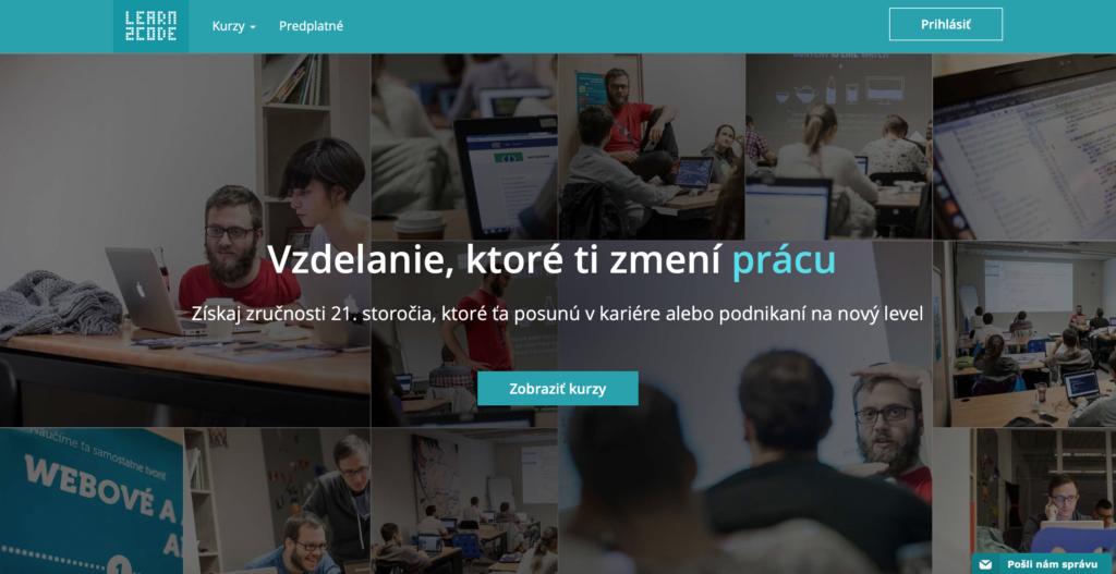 Learn2code.sk online kurzy