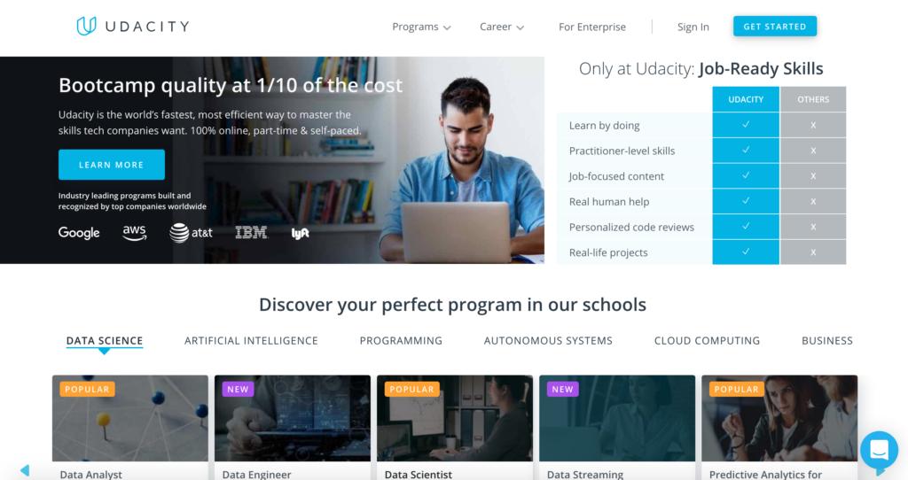 Udacity.com online kurzy
