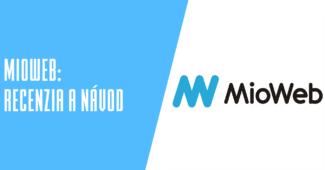 Webový editor MioWeb.cz recenzia a návody