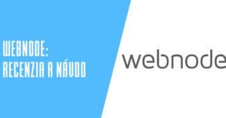 Webový editor Webnode.sk recenzia a návody