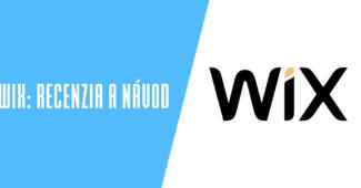 Webový editor Wix.com recenzia a návod