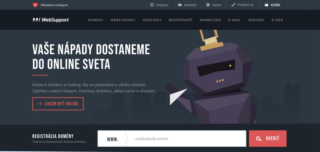 WebSupport.sk webhosting