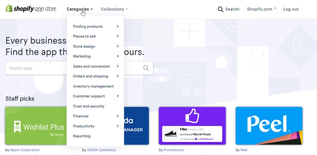 Recenzia Shopify - App Store