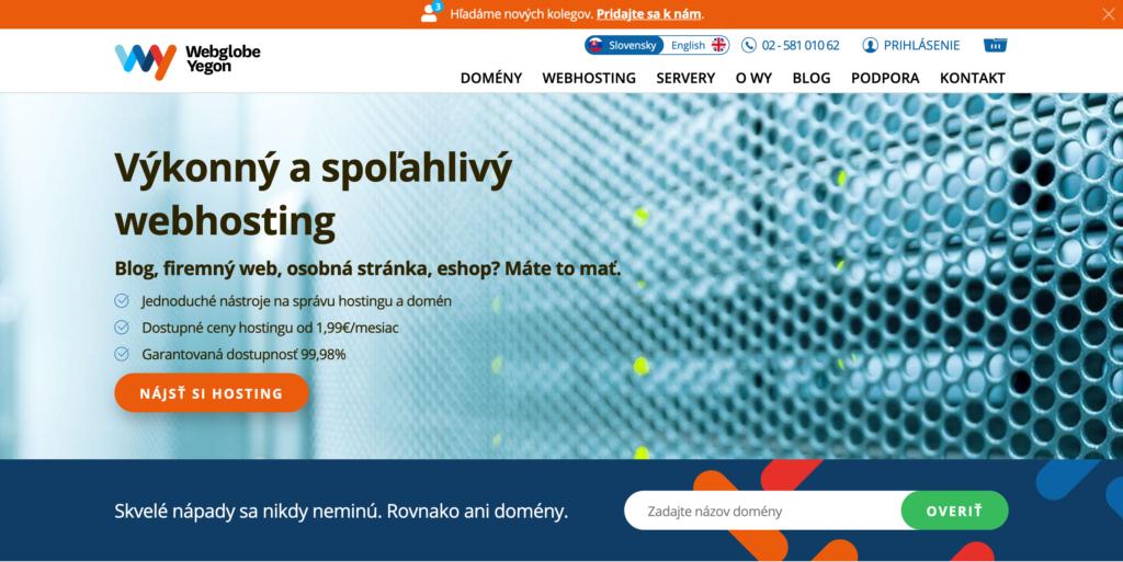 WY.sk webhosting