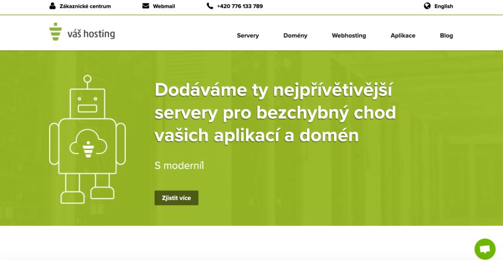 Vas-hosting.cz webhosting