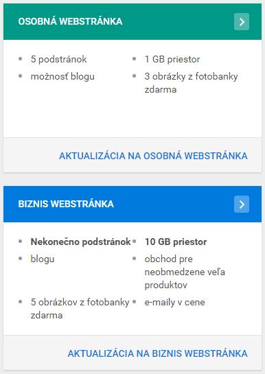 Recenzia WebSupport Vlastná Webstránka - cenové balíčky