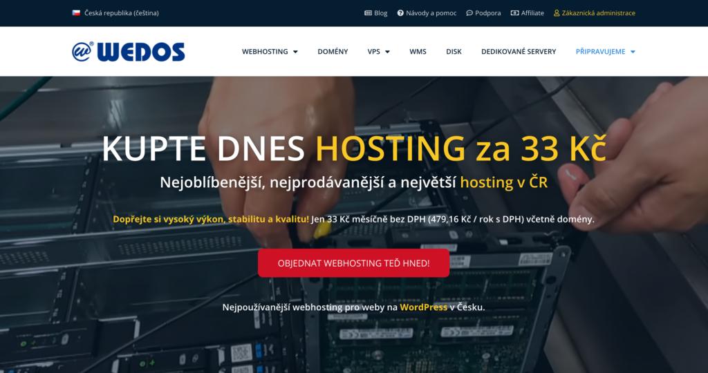 Wedos.cz webhosting