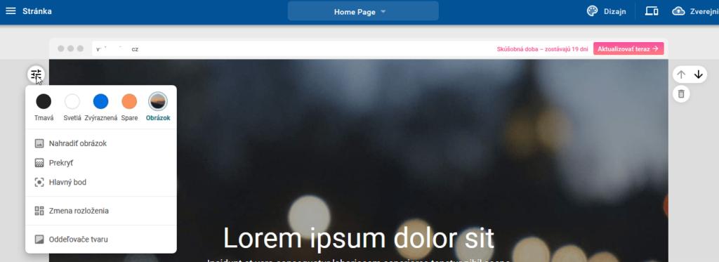 WebSupport Vlastná Webstránka návod - tvorba webstránok