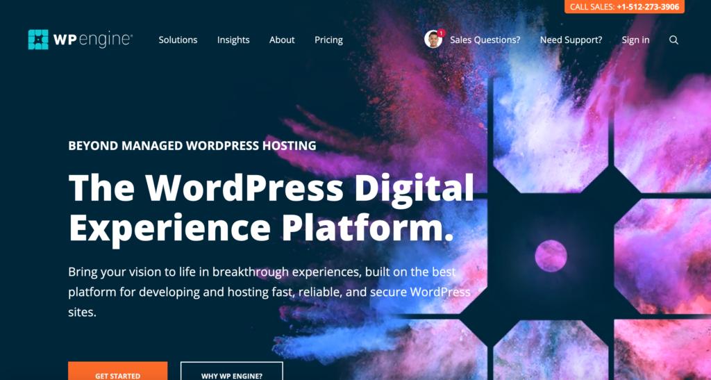 WPengine.com webhosting