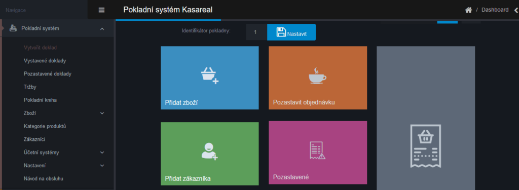 Webareal recenzia - pokladničný systém