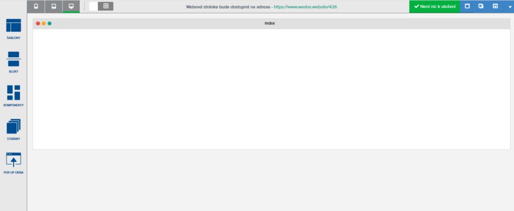 Návod na tvorbu webu v praxi s WEDOS Website