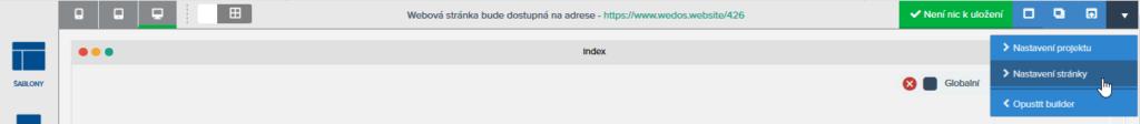 Recenzia WEDOS Website - konfigurácia SEO pri tvorbe webu
