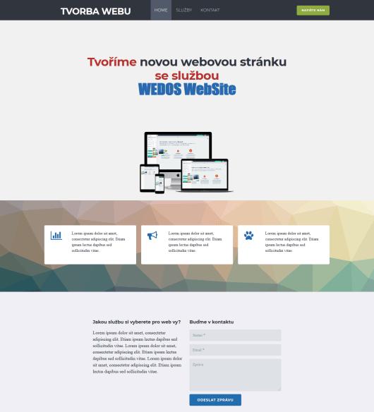 Recenzia WEDOS Website - test rýchlosti
