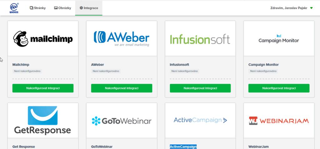 WEDOS Website recenzia - integrované služby