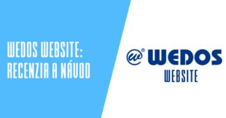 WEDOS Website recenzia a návody