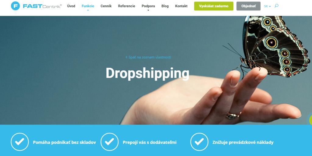 Recenzia Fastcentriku - dropshipping