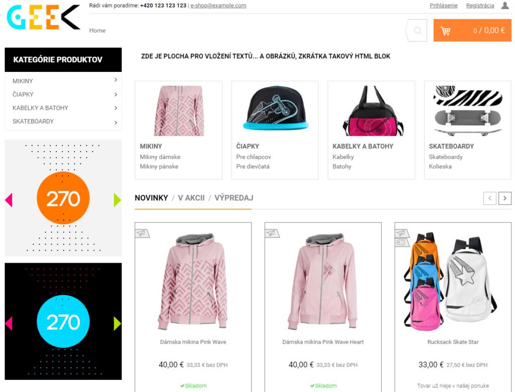 Recenzia a návod na Fastcentrik - finálny e-shop