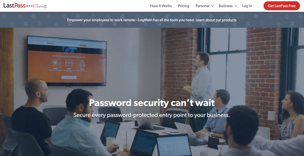 LastPass.com password manager