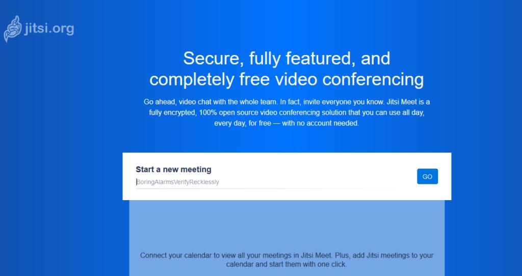 Platforma pre videokonferencie Jitsi