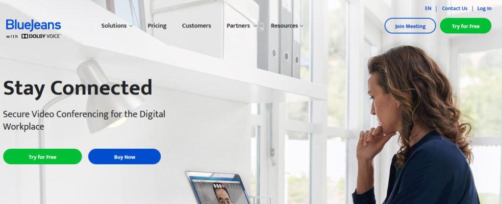 Platforma pre videokonferencie Bluejeans