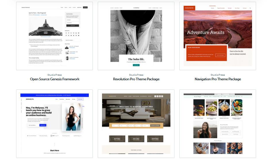 Recenzia StudioPress šablóny