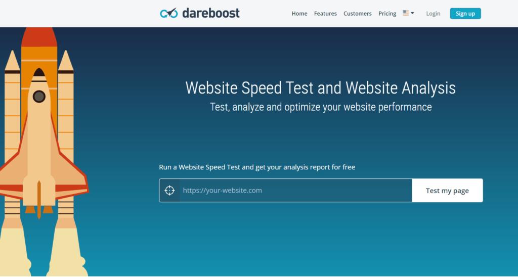 Nástroj na analýzu a optimalizáciu rýchlosti webov Dareboost.com
