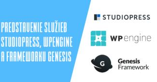 Predstavenie služieb StudioPress, WPengine a frameworku Genesis