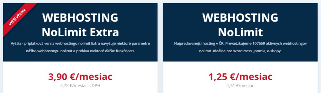 Recenzia Wedosu ceny webhostingov
