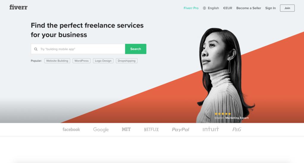 Fiverr.com globálna platforma pre nákup mikroprác