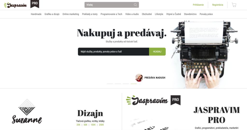 JaSpravim.sk platforma pre nákup mikroprác
