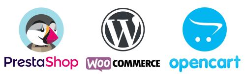 Modul Mergado Pack s podporou PrestaShop, WooCommerce a OpenCart
