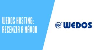 WEDOS hosting recenzia a návody