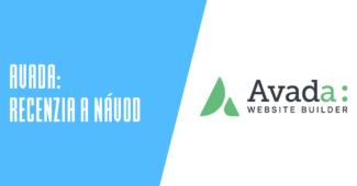 Avada WordPress šablóna recenzia a návod