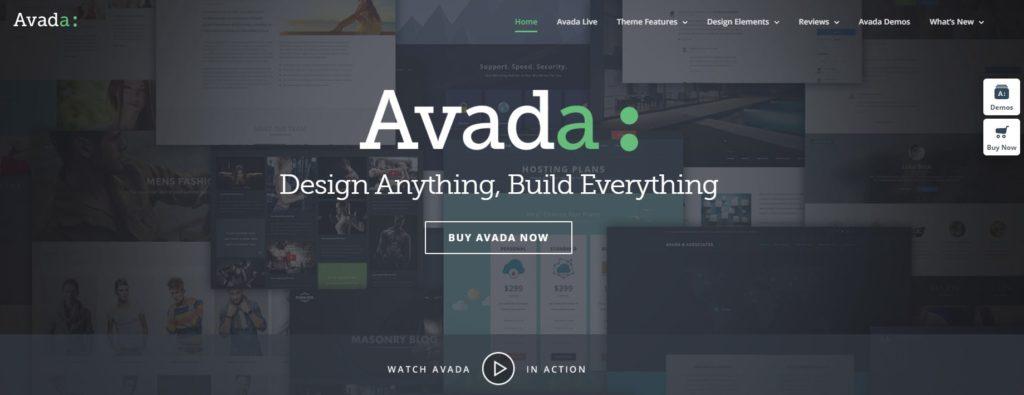 Recenzia WordPress šablóny Avada - predstavenie