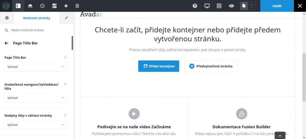 Recenzie WordPress šablóny Avada - Fusion Builder Live
