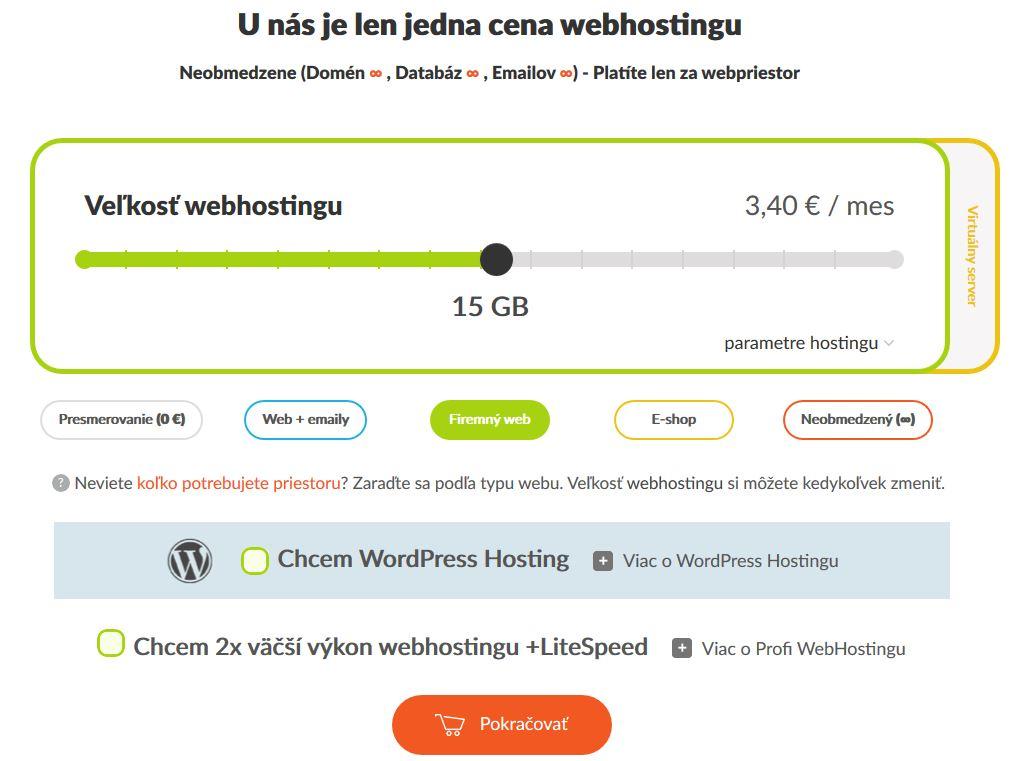 HostCreators recenzia výber webhostingu II.