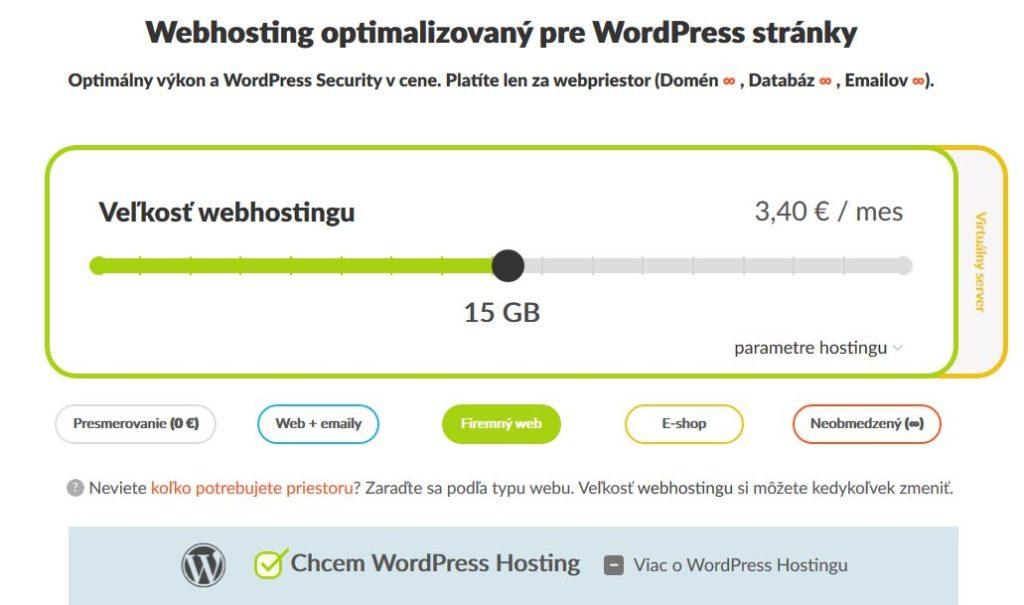 HostCreators recenzia WordPress webhosting