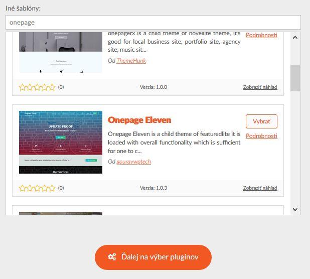 HostCreators recenzia výber WordPress šablóny
