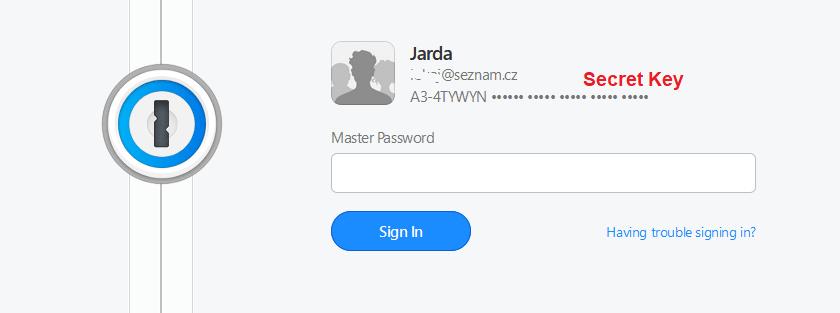 Recenzia 1Password prihlásenie