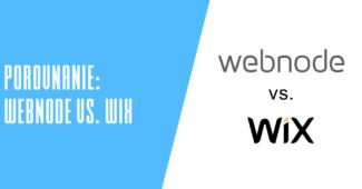 Porovnanie Webnode vs. WIX