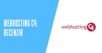 Webhosting C4 recenzia
