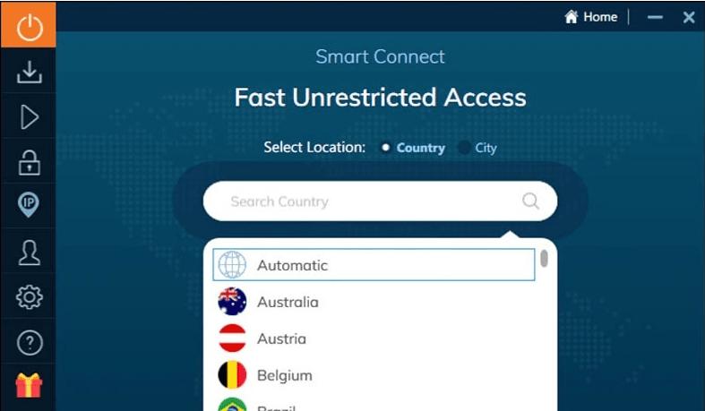 VPN Ivacy Smart Connect