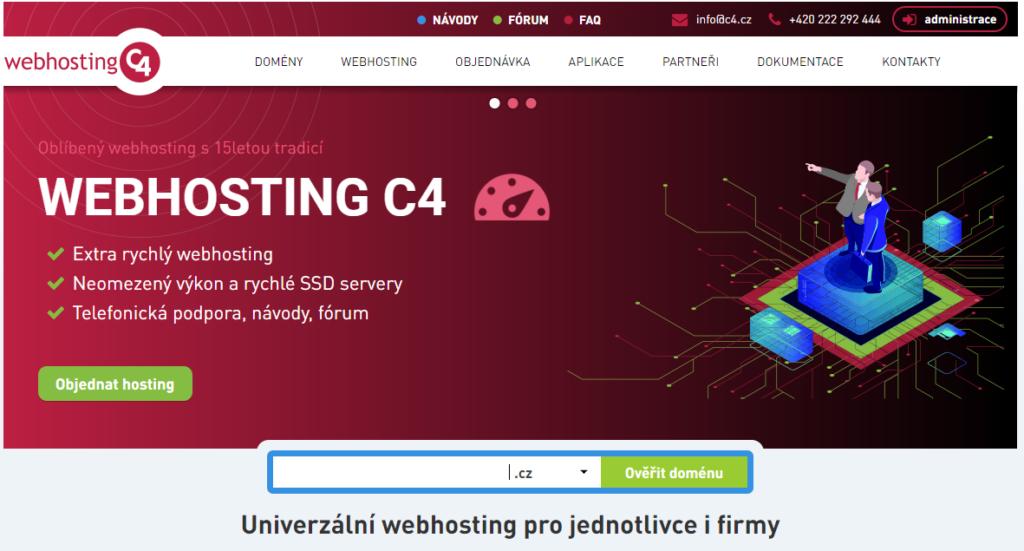 Recenzia Webhosting C4 predstavenie