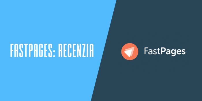 FastPages recenzia WYSIWYG editor webových stránok