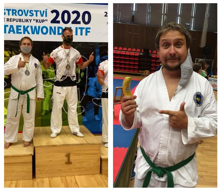 Vít Michálek na súťaži v taekwondo