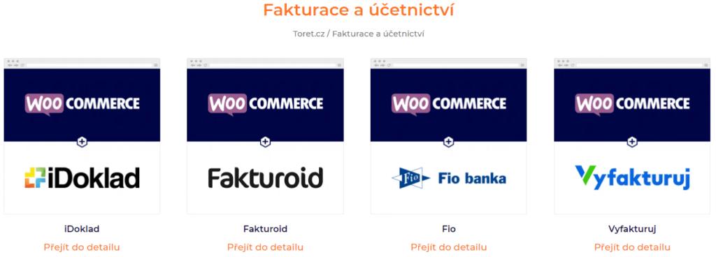 Fakturačné pluginy pre WooCommerce od Toret